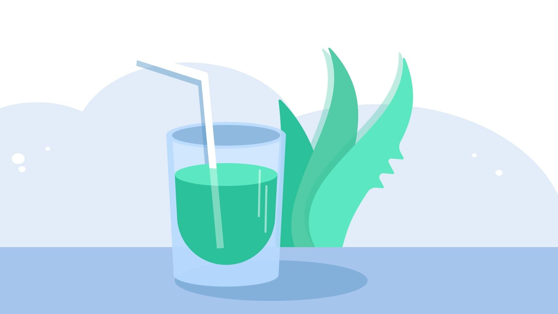 Illustration of aloe