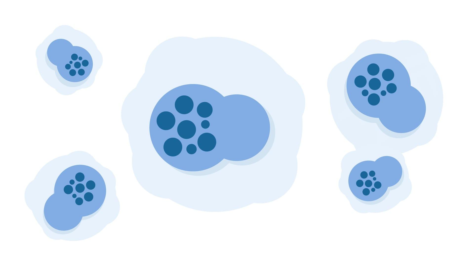 An illustration of chlamydia